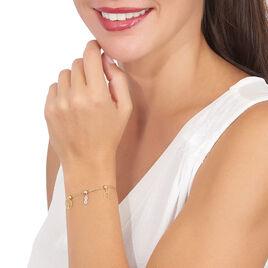 Charms Hilde Or Blanc Oxyde De Zirconium - Pendentifs Infini Femme | Histoire d'Or