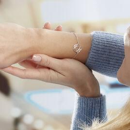 Bracelet Constellation Argent Blanc - Bracelets fantaisie Femme | Histoire d'Or