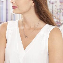 Collier Helonna Argent Blanc - Colliers fantaisie Femme   Histoire d'Or