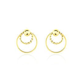 Boucles D'oreilles Pendantes Octavia Or Jaune - Boucles d'oreilles pendantes Femme | Histoire d'Or