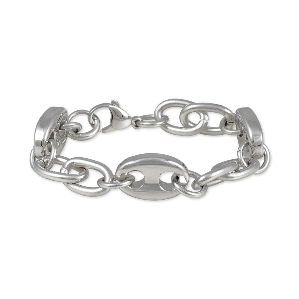 Bracelet Samaraae Acier Blanc - Bracelets fantaisie Femme | Histoire d'Or