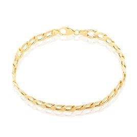 Bracelet Damon Maille Gourmette Or Jaune - Bracelets chaîne Homme | Histoire d'Or