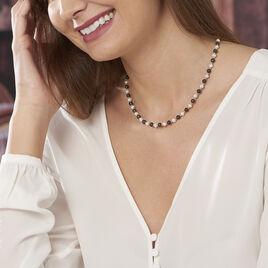 Collier Kenaae Or Jaune Perle De Culture - Bijoux Femme | Histoire d'Or