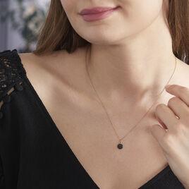 Collier Colline Argent Rose Oxyde De Zirconium - Colliers fantaisie Femme | Histoire d'Or
