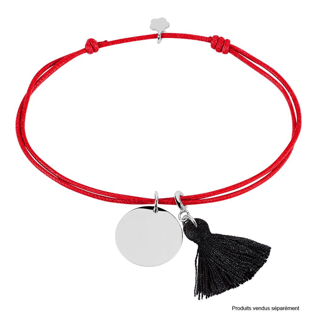 Bracelet Paula Argent Blanc - Bracelets cordon Femme   Histoire d'Or