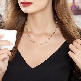 Collier Assma Plaque Or Jaune - Bijoux Femme   Histoire d'Or
