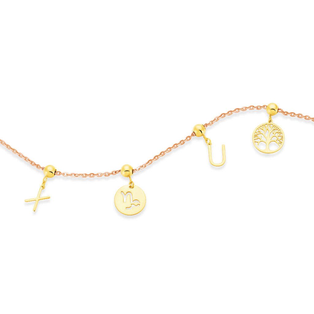 Charms Euryale Or Jaune - Charms Femme   Histoire d'Or