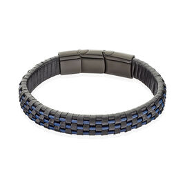 Bracelet Acier Noir - Bracelets fantaisie Homme | Histoire d'Or