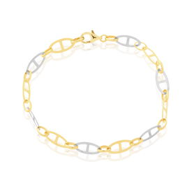 Bracelet Jaraae Or Bicolore - Bijoux Femme   Histoire d'Or