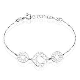 Bracelet Gardina Argent Blanc - Bracelets fantaisie Femme | Histoire d'Or
