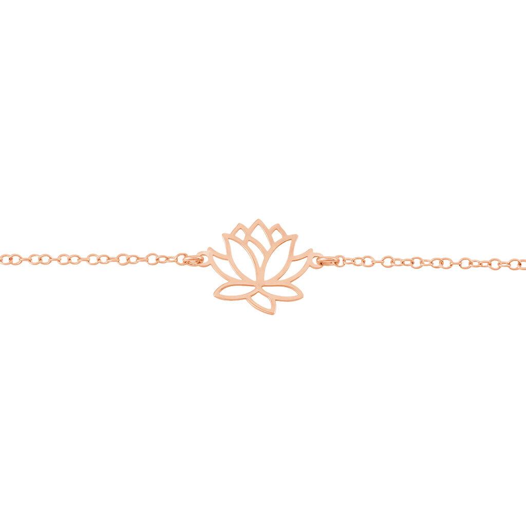 Bracelet Rosita Argent Rose - Bracelets fantaisie Femme   Histoire d'Or