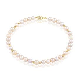 Bracelet Eilis Or Jaune Perle De Culture - Bijoux Femme | Histoire d'Or