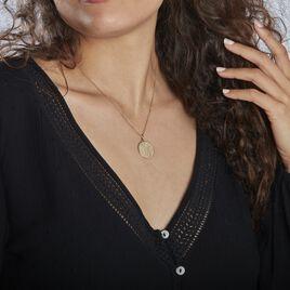 Collier Astro Plaque Or - Colliers Zodiaque Femme | Histoire d'Or