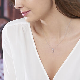 Collier Joy Or Blanc Diamant - Bijoux Femme | Histoire d'Or