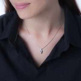 Collier Estevan Or Blanc Diamant - Colliers Infini Femme | Histoire d'Or
