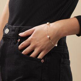 Bracelet Cannelle Or Jaune Perle De Culture - Bijoux Femme | Histoire d'Or