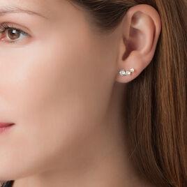 Bijoux D'oreilles Raffaele Or Jaune Oxyde De Zirconium - Ear cuffs Femme | Histoire d'Or
