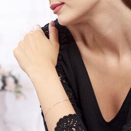 Bracelet Peyronne Or Bicolore - Bijoux Femme | Histoire d'Or