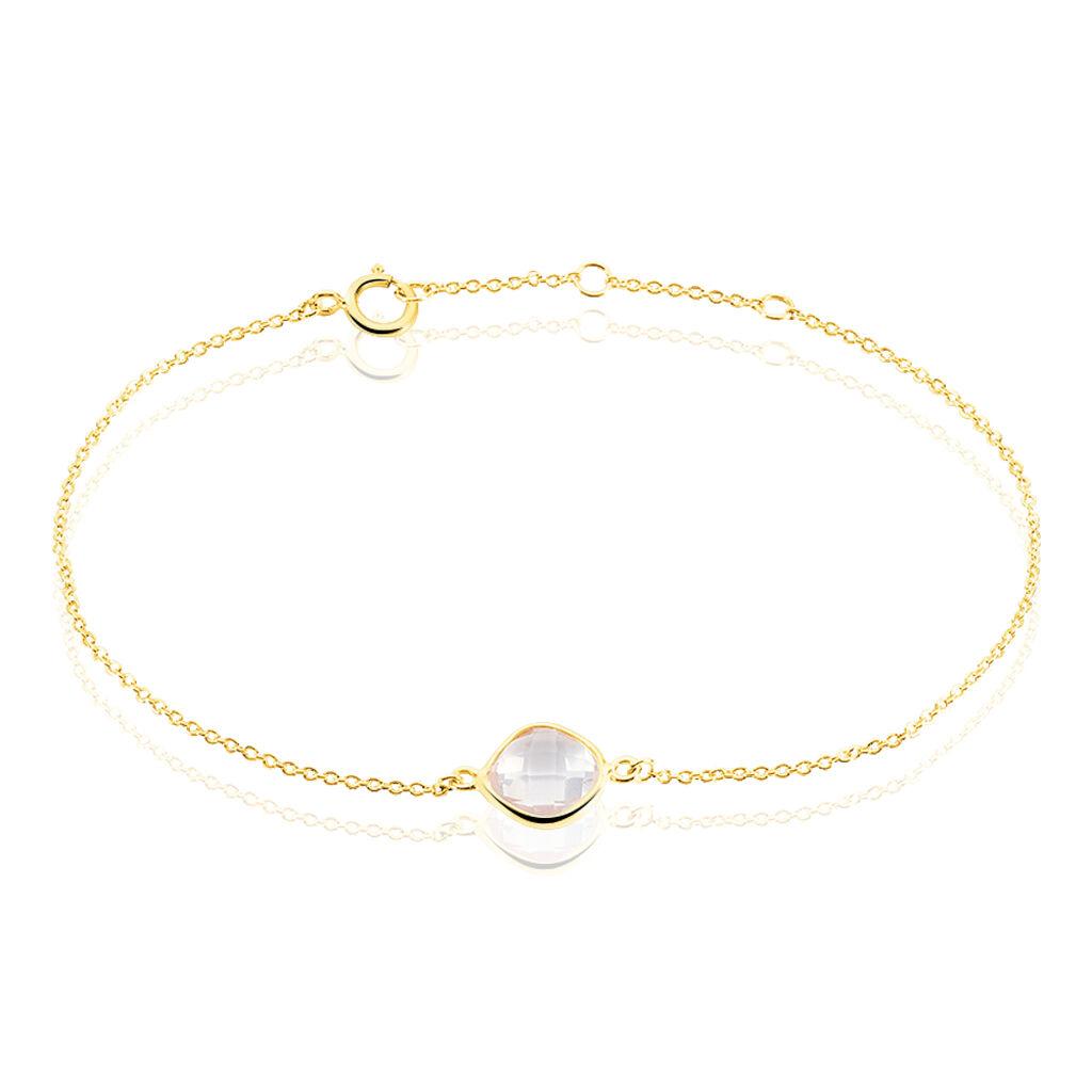 Bracelet Or Jaune Quartz - Bijoux Femme   Histoire d'Or