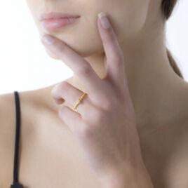 Bague Solitaire Orleane Or Jaune Diamant - Bagues solitaires Femme   Histoire d'Or