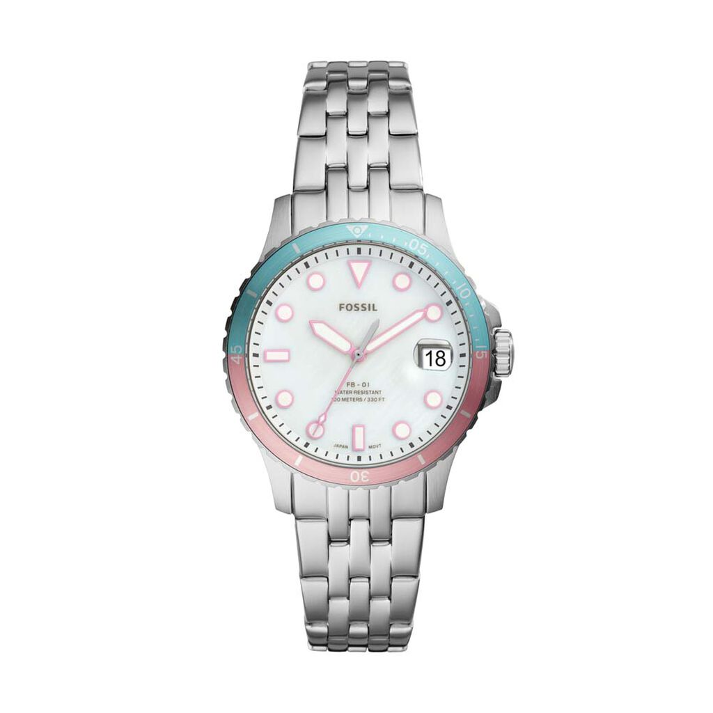 Montre Fossil Fb- Blanc