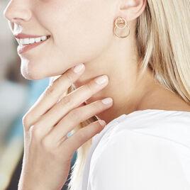 Boucles D'oreilles Pendantes Gracieuse Or Jaune - Boucles d'oreilles pendantes Femme | Histoire d'Or