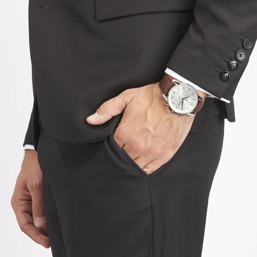 Montre Boss Navigator Blanc - Montres Homme   Histoire d'Or