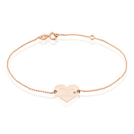 Bracelet Or Rose Sofia Coeur - Bracelets Coeur Femme | Histoire d'Or