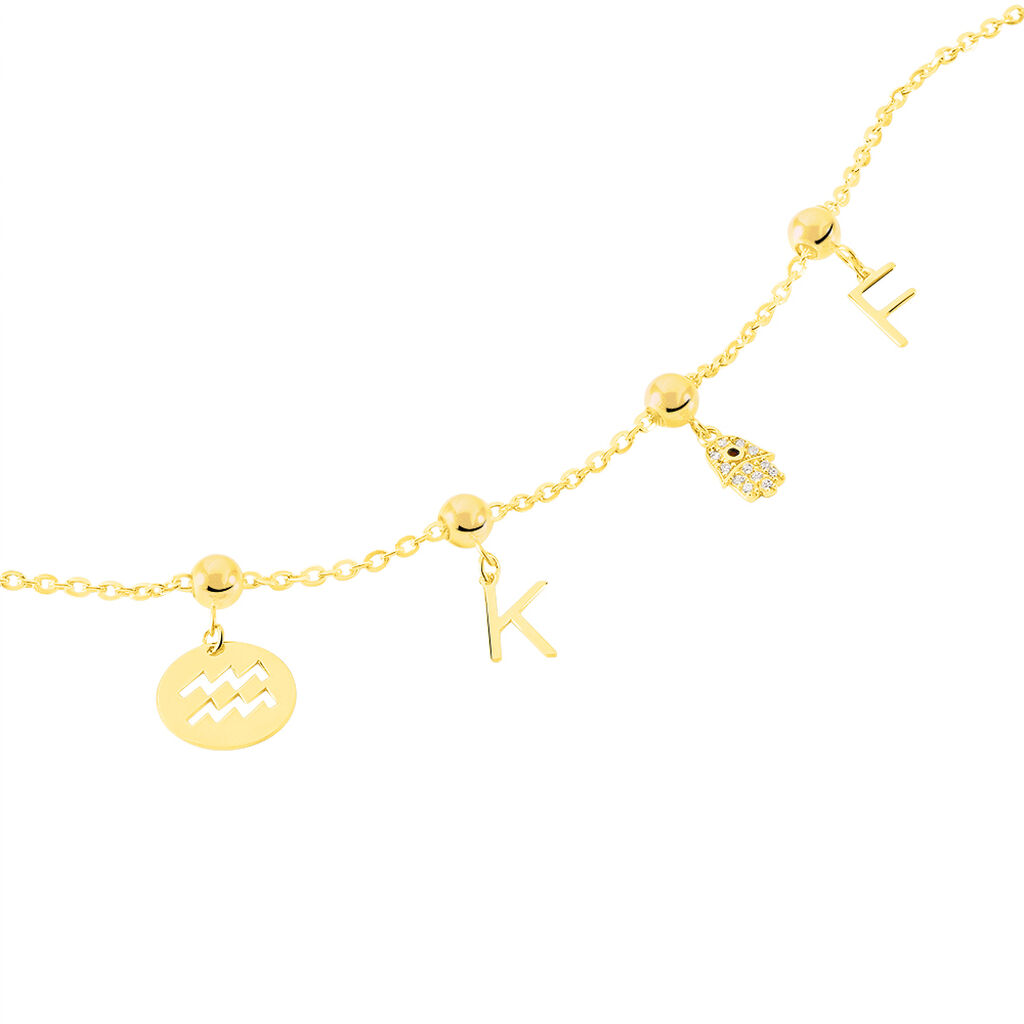 Charms Kellia Or Jaune - Charms Femme   Histoire d'Or