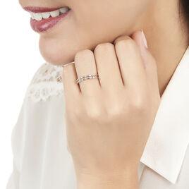 Bague Lauritz Or Blanc Diamant - Bagues avec pierre Femme | Histoire d'Or