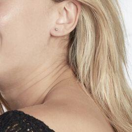 Boucles D'oreilles Pendantes Armando Argent Blanc Oxyde De Zirconium - Boucles d'oreilles fantaisie Femme | Histoire d'Or