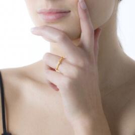 Bague Solitaire Annelies Or Jaune Diamant - Bagues solitaires Femme | Histoire d'Or