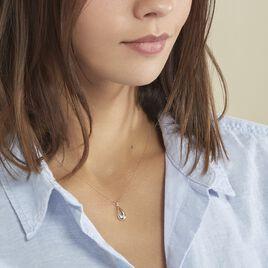 Collier Nirmala Or Jaune Diamant - Bijoux Femme | Histoire d'Or