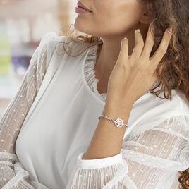 Bracelet Lao Argent Blanc - Bracelets Arbre de vie Femme | Histoire d'Or