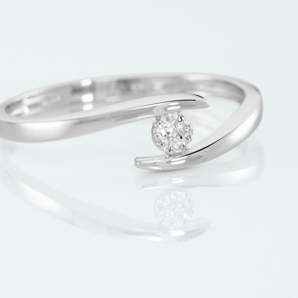 Bague Nolah Or Blanc Diamant