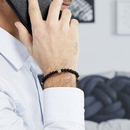Bracelet Parissa Or Acier Bicolore - Bijoux Homme | Histoire d'Or