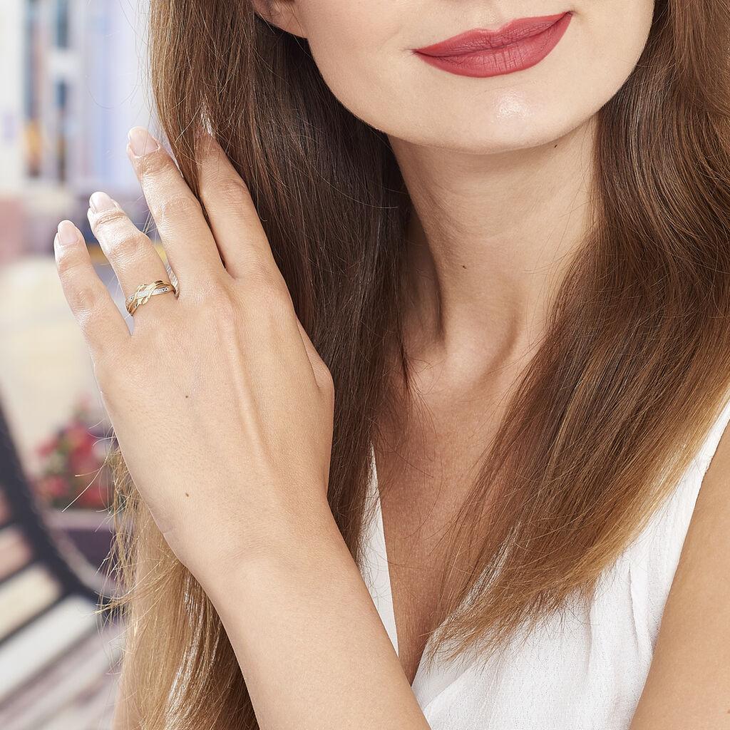 Bague Assa Or Jaune Diamant - Bagues avec pierre Femme | Histoire d'Or