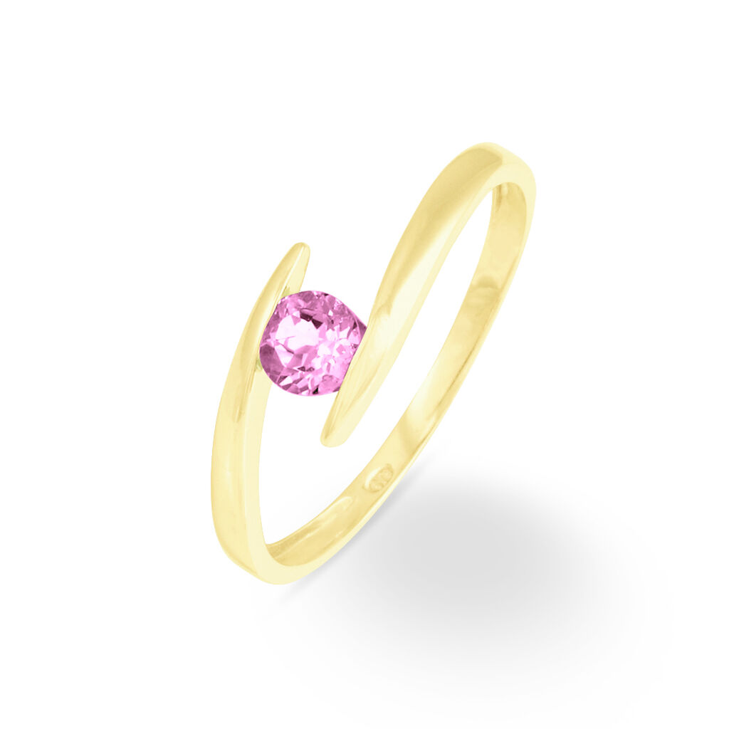 Bague Tiphaine Or Jaune Tourmaline