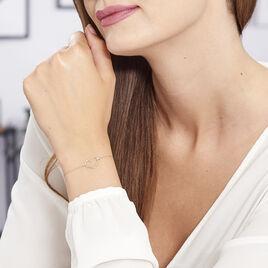 Bracelet Laila Or Jaune Diamant - Bracelets Coeur Femme | Histoire d'Or