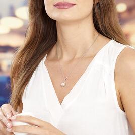Collier Adelina Argent Blanc Perle De Culture - Colliers fantaisie Femme | Histoire d'Or