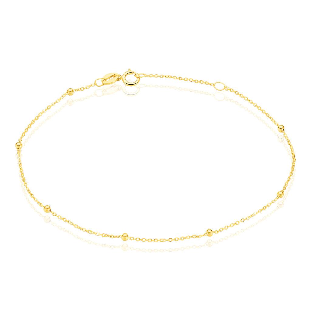 Bracelet Petites Boules Or Jaune - Bijoux Femme | Histoire d'Or