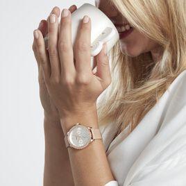 Montre  Fossil Izzy Multifunction Crème - Montres Femme | Histoire d'Or