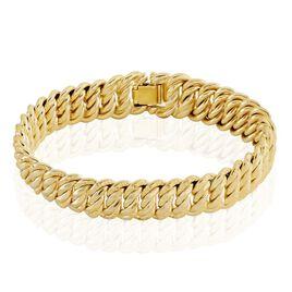 Bracelet Jeffrey Plaqué Or - Bracelets chaîne Femme | Histoire d'Or