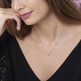 Collier Ponama Or Jaune Oxyde De Zirconium - Bijoux Femme | Histoire d'Or