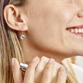 Boucles D'oreilles Pendantes Ludmille Or Jaune Topaze - Boucles d'oreilles pendantes Femme | Histoire d'Or