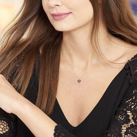 Collier Marta Or Jaune Coeur - Colliers Coeur Femme | Histoire d'Or