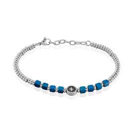 Bracelet Dominic Acier Bicolore - Bracelets fantaisie Homme | Histoire d'Or