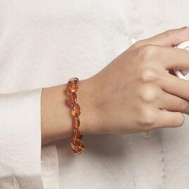 Bracelet Elastiqué Mirganez Ambre - Bijoux Femme | Histoire d'Or
