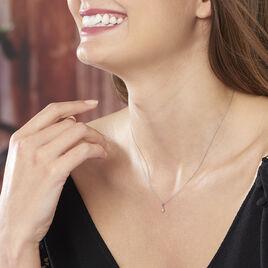 Collier Cicelie Or Blanc Diamant - Bijoux Femme | Histoire d'Or