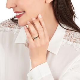 Bague Coralee Or Jaune Diamant - Bagues avec pierre Femme | Histoire d'Or